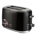 Тостер TESLER TT-255 BLACK, 900 Вт., 6 режимов, электронное управление, чёрный