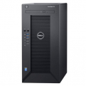"Сервер Dell PowerEdge T30 E3-1225v5,  1x8GB,  2x1TB SATA 7. 2k 3. 5"" HDD (4x3. 5""),  SATA RAID,  DVDRW,  1GbE,  AMT11,  Tower,  1Y NBD"