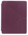 """Чехол-книжка универсальный для планшета 9,7""""  Continent UTS-101 VT Purple флип, искусственная кожа"""