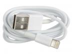 Кабель Lightning 8pin-USB Ritmix RCC-120 White для синхронизации/ зарядки, 1м