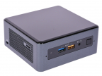 Неттоп Intel NUC L10 Optane Original (BOXNUC8I5BEHFA2) i5-8259U(2. 3) /  4Gb /  1Tb+16Gb Intel Optane / Iris Plus 655 /  DOS /  Black