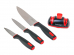 1011-RD Набор ножей 3 шт с ножеточкой Urban Rondell