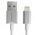 Кабель Vention USB 2.0 AM-Lightning 8M для iPad/ iPhone 5/ 6 серебристый VAI-C02-W100