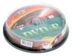 Диски DVD+R 8. 5Gb VS 8х 10шт Cake Box Double layer printable