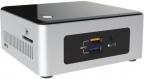 """Платформа Intel BOXNUC5PPYH (BOXNUC5PPYH) Black/ Silver /  Pentium N3700 1.6GHz /  noDDR /  Отсек для диска 2.5"""" SATA /  Интегрирована в процессор Intel HD Graphics 3000 /  noDVD /  noOS"""