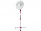 Вентилятор напольный Scarlett SC-SF111B05, 45 Вт., 16'' (40 см), «сетка», подсветка, белый