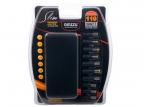 Универсальный адаптер питания для ноутбуков GiNZZU® GA-22110U (ультраслим,  110W,  1xUSB,  12V-24V,  13