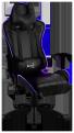 Кресло для геймера Aerocool AC120 RGB-B ,  черное,  с перфорацией,  с RGB подсветкой,  до 150 кг,  размер,  см (ШхГхВ) : 70х55х124/ 132.