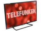 "Телевизор Telefunken TF-LED32S39T2S LED 32"" Black, Smart TV, 16:9, 1366х768, 5 000:1, 240 кд/ м2, USB, HDMI, Wi-Fi, RJ-45, DVB-T, T2, C"