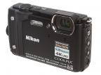 "Фотоаппарат Nikon Coolpix W300 Black <16.0Mp, 5x zoom, 3.0"", SDXC, Влагозащитная, Ударопрочная> (вод"