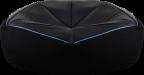 Кресло-мешок Aerocool P7-BB1 (чехол без наполнителя) ,  до 100 кг,  джинсовая ткань,  ШхДхВ: 110х110х49см,  объём наполнителя: 480л (3-мм частицы)