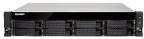 Сетевой накопитель QNAP TS-853BU-4G Сетевой RAID-накопитель,  8 отсеков для HDD,  стоечное исполнение,  1 блок питания.  Intel Celeron J3455 1, 5 ГГц,  4 ГБ