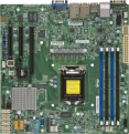 Мат плата Supermicro MBD-X11SSH-F-O mATX, LGA1151, Intel C236, 4xDDR4, 8xSATA, 2xGbE, IPMI, VGA