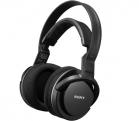 Наушники Sony MDR-RF855RK Black Беспроводные /  Полноразмерные без микрофона /  10-22000 Гц /  Радиоканал /  2RCA /  miniJack 3.5 мм