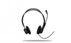 Гарнитура Logitech Headset 960 (981-000100) Black Проводные /  Накладные с микрофоном /  20 — 20 000 Гц /  44 дБ /  Одностороннее /  USB