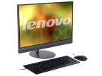 "Моноблок Lenovo IdeaCentre AIO 520-24IKU (F0D2003ERK) i5-7200U (2.50)/ 4GB/ 1TB + 16GB Optane Memory/ 23.8"" 1920x1080/ AMD 530 2G/ DVD-RW/ WiFi/ BT4.0/ Win10 Black Kb+Mouse"