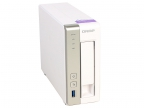 Сетевой накопитель QNAP TS-131P Сетевой накопитель, 1 отсек для HDD. Двухъядерный Freescale ARM Cortex-A9 1,2 ГГц