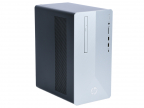 ПК HP Pavilion 595 595-p0002ur 4DV81EA Ryzen 5-2600/ 12Gb/ 1TB+128Gb SSD/ NV GTX1060 3GB/ DVD-RW/ Win10/ Natural Silver