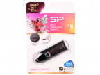 USB флешка Silicon Power Blaze B25 16GB Black (SP016GBUF3B25V1K) USB 2.0