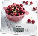 Весы кухонные Vitek VT-8002(W) рисунок 10 кг,  стекло