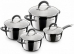 Набор посуды Rondell Flamme RDS-040 (8 пр:Кастр18/20/24см и ковш с/кр)