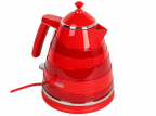 Чайник DeLonghi KBA2001.R Avvolta, 2000Вт, 1.7л, красный