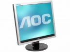 "Монитор 17"" AOC E719SDA Silver-Black 1280x1024, 5ms, 250 cd/ m2, 1000:1 (DCR 20M:1), D-Sub, DVI, 1Wx2, Headph.Out, vesa"