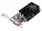 Видеокарта Gigabyte GeForce GT1030 GV-N1030D5-2GL 2Gb 1227 MHz NVIDIA GeForce GT1030/ GDDR5 6008Mhz/ 64bit/ PCI-E 16x/ HDMI, DVI