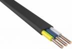Кабель силовой ВВГ-Пнг (А) Калужский кабельный завод 3x1. 5 мм плоский 100м черный ГОСТ