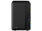 Сетевой накопитель Synology DS218+ 2,0GhzCPU/ 2GB(upto6)/ RAID0,1/ up to 2HDDs SATA(3,5' 2,5')/ 3xUSB3.0/ 1eSATA/ 1GigEth/ iSCSI/ 2xIPcam(up to 25)/ 1xPS