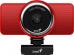 Веб-Камера Genius ECam 8000, red, Full-HD 1080p swiveling, tripod-ready design, USB, built-in microphone, rotation 360 degree, tilt 90 degree