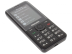 Мобильный телефон Philips E168 Xenium Black 2.4'' (320x240)/ DualSim/ microSD/ 2G/ BT