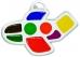 Акварель медовая САМОЛЕТИК, 8 цв., пл. коробка фигурная, без кисти, с подвесом
