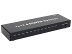Разветвитель HDMI Spliitter 1=)12 3D Full-HD VCOM 1. 4v DD4112 каскадируемый сплиттер на 12 мониторов