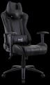 Кресло для геймера Aerocool AC120 AIR-B ,  черное,  с перфорацией,  до 150 кг,  размер,  см (ШхГхВ) : 70х55х124/ 132.