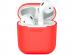 Силиконовый чехол Deppa для AirPods, красный