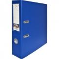 Папка-регистратор с покрытием PVC и металлической окантовкой,  80 мм,  А4,  синяя IND 8/ 50 PP NEW BU
