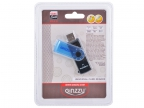 Картридер AII in 1 USB 2.0 Ginzzu GR-412B, Black-Blue