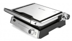 Электрогриль Kitfort KT-1602,  2000Вт,  серебристый/ чёрный
