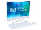 "Моноблок HP 24 24-f0028ur (4GS79EA) i3-8130U (2.2) /  4GB /  1TB + 16GB Intel Optane /  23.8"" 1920x1080 /  Int: Intel UHD 620 /  noODD /  WiFi /  BT /  Kb+M /  Win10 (Snow White)"