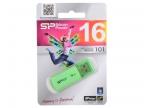 USB флешка Silicon Power Helios 101 Green 16GB (SP016GBUF2101V1N)