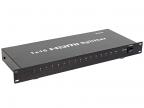 Разветвитель HDMI Splitter 1 to 16 VCOM 3D Full-HD 1. 4v,  каскадируемый