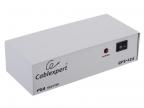 Разветвитель VGA Gembird/ Cablexpert,  HD15F/ 4x15F,  1комп. -4 монитора,  каскадируемый