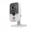 IP-камера HiWatch DS-I114 (2. 8mm) 1Мп внутренняя IP-камера c ИК-подсветкой до 10м 1/ 4'' CMOS матрица; объектив 2. 8мм; угол обзора 67°; механический ИК