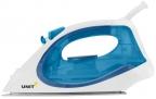 Утюг UNIT USI-280,  Цвет - Синий; 2200Вт,  Подошва - Керамическое покрытие,  самоочистка,  анти-накипь,  анти-капля,  вертикальное отпаривание