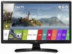"Телевизор LED 24"" LG 24MT49S-PZ черный,  Wi-Fi,  Smart TV,  HD READY,  60Hz,  DVB-T2,  DVB-C,  DVB-S2,  USB"