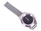 Гибридные смарт часы MyKronoz ZeTime Elite Petite миланский сетчатый браслет цвет матовое серебро,  3