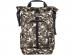 """Рюкзак для ноутбука 15.6"""" Hama Roll-Top камуфляж/коричневый нейлон (00101819)"""