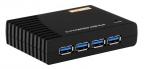Концентратор ST-Lab U-540 USB 3.0 4 Ports Hub W/ POWER, Retail