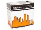 """Кабель UTP кат.5е """"Telecom"""" CCA (бухта 305м) LSZH (огнеупорный, не содержит галогенов) (Омедненный)"""